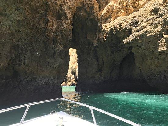 Boat Trip to Ponta da Piedade from Lagos: Bluefleet grotto trip