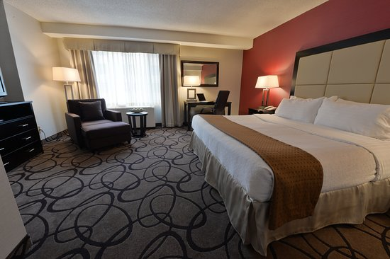 Holiday Inn Montreal Centreville Downtown: Guest room