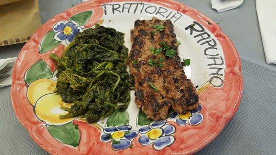 Trattoria e Pizzeria Rapuano: carne tenera