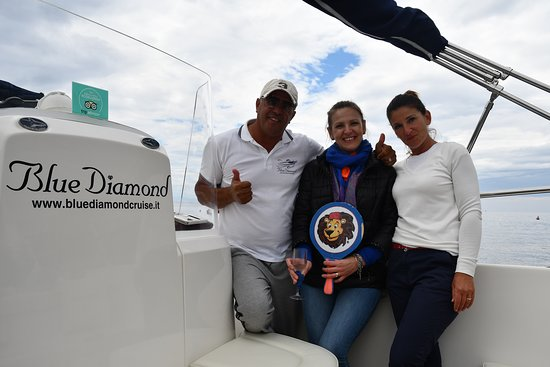 Blue Diamond Excursion: our great crew and hosts
