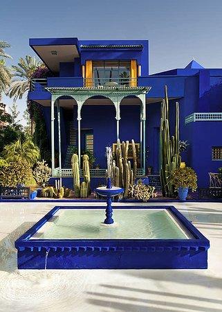 Marrakech , jardin Majorelle