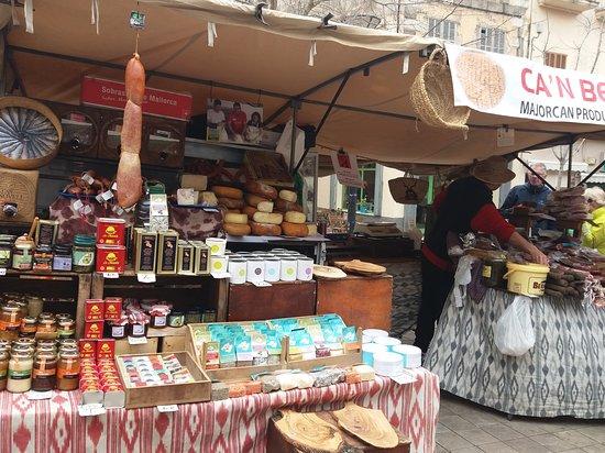 Manacor, Ισπανία: mercadillo