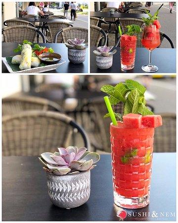 ☀️🍉RELAXATION ON NEW TERRACE🍉☀️ «Was ohne Ruhepausen geschieht, ist nicht von Dauer.» -Ovid  Gönne dir eine entspannte Auszeit und genieße auf unserer neuen Terrasse unsere unglaublich frischen und gesunden Glücksrollen und verkoste dabei die erfrischenden hausgemachten Drinks, für einen einzigartigen Start in den Sommer!