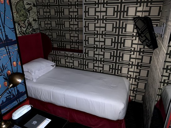 Single bed with LCD tv