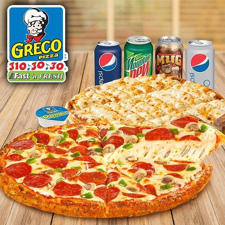 Bloomfield, Canada: Greco Pizza