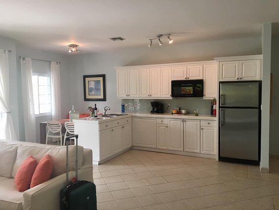 Beach House Turks & Caicos: Kitchen/dining setup in room Amazed.