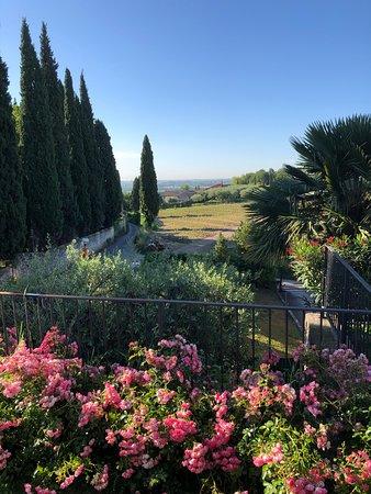 Castelrotto, Włochy: Utsikt från rummet