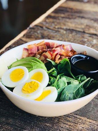 Breakfast bowl at JOJO Coffeehouse Breakfast & Brunch Restaurant in Old Town Scottsdale Arizona