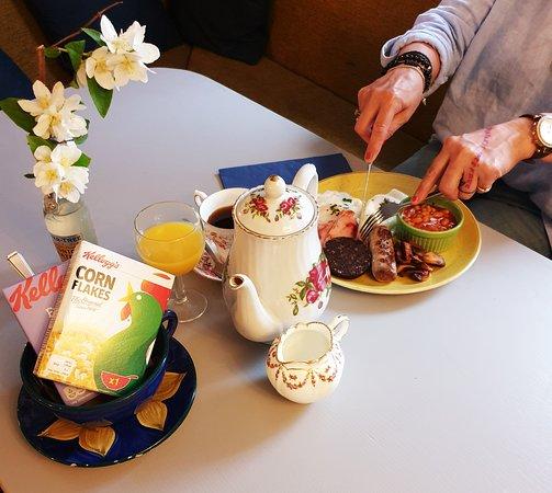 White Horse Inn: Breakfast