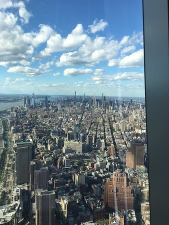 View fron one world trade building