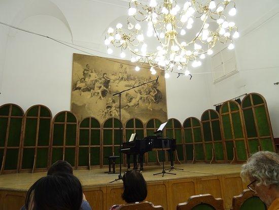 Liszt Ferenc Memorial Museum: Concert hall
