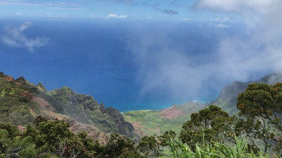 Waimea, HI: View from the northern most vantage point, the rich contrasting colors are simply stunning!