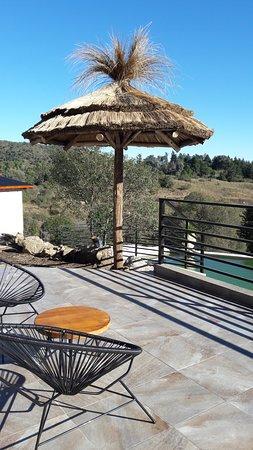 Villa Ciudad de America, Argentina: El quincho.... Un lugar ideal para tomar algo!!!