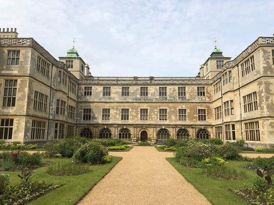 Audley End House and Gardens: Back of House and Mount Garden
