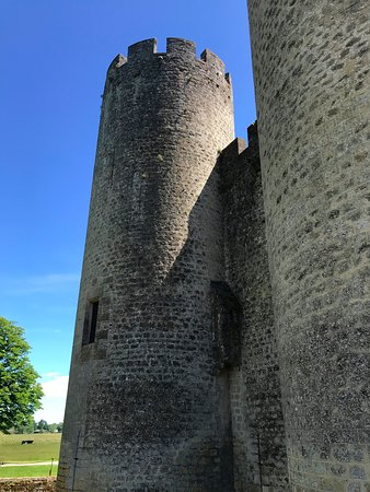 One of the corners of the Chateau