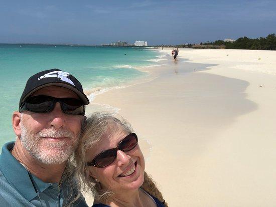 Eagle Aruba Resort & Casino: Enter the pristine white sands of Eagle Beach, 2017 TripAdvisor Traveler Award Winner for 3rd Best Beach in the World.