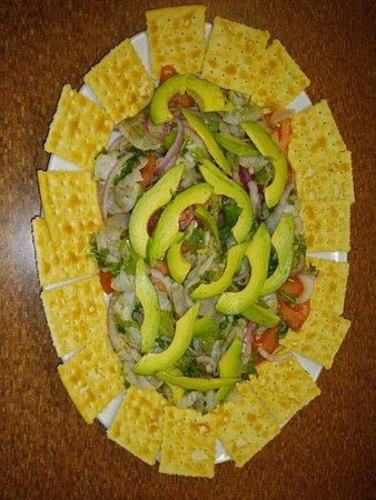 Seafood ceviche