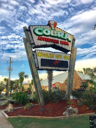 My Four Year Old Granddaughter Enjoyed Smuggler S Cove Mini Golf Picture Of Cobra Adventure Park Panama City Beach Tripadvisor