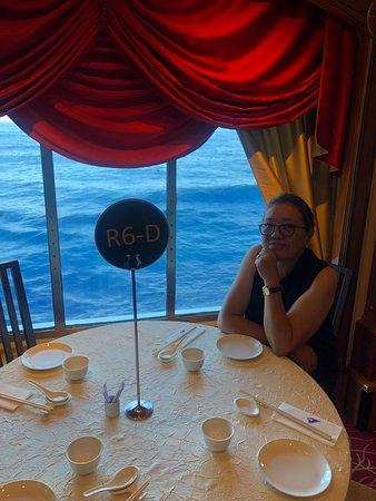 SuperStar Virgo: The exclusive dining area