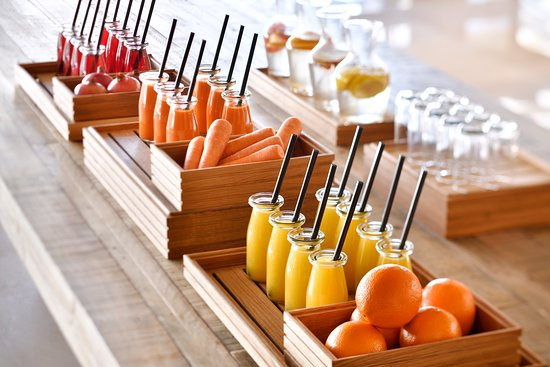 Crafted Juices and specialty beverages