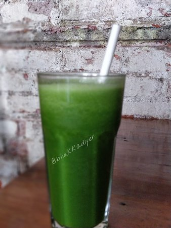 Birdsong Cafe: green mint