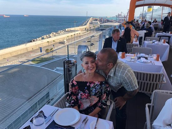 Celebrity Edge: on board the magic carpet for a special dinner