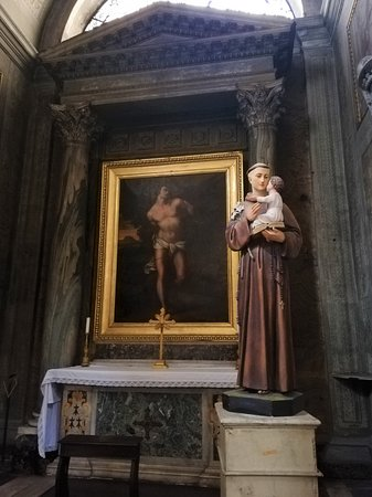 Statua di Sant'Antonio.