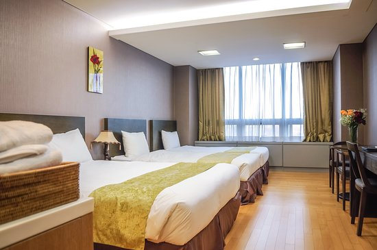 Hotel Hu Incheon Airport: Family Triple
