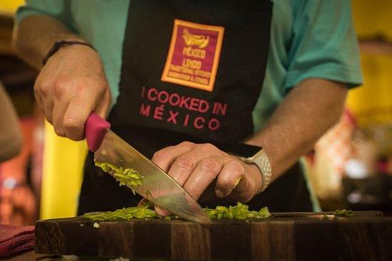 6-retters meksikansk matlagingsklasse...