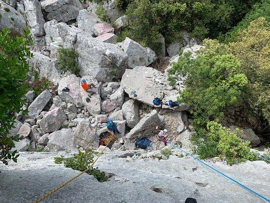 Rock Climbing in Dubrovnik: 兩位教練們~