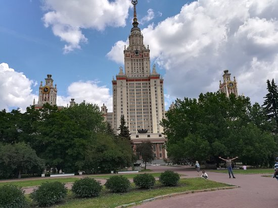 M.V. Lomonosov Monument