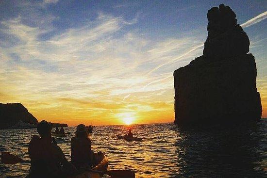 Cala Benirràs- SUNSET- Kayak Trip