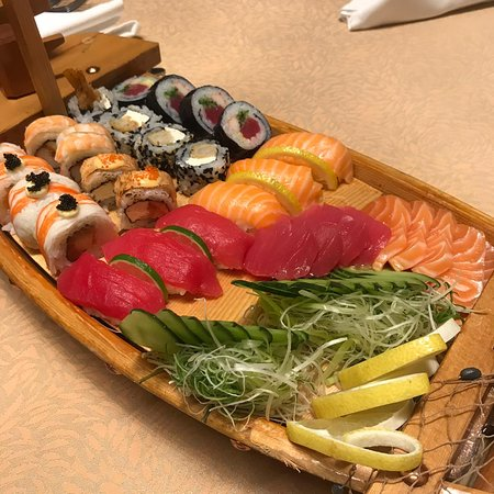 sushi is a boat