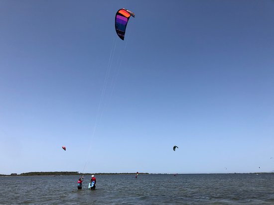 ‪‪Test lesson- check if You are interested in kitesurfing‬: Me on the test lesson with Kite Station‬