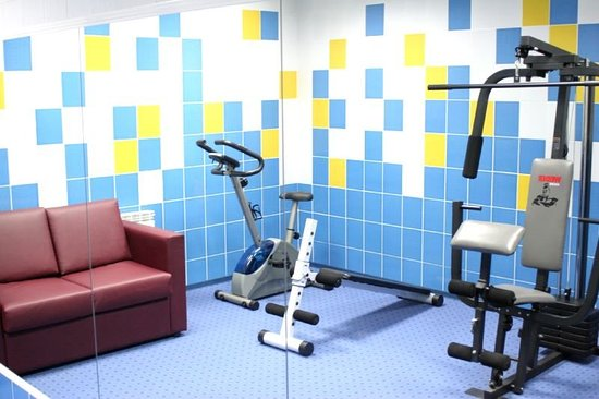 Eurohotel Central Hotel : Health club