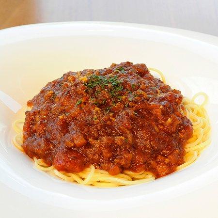 挽き肉たっぷりミートスパゲティ