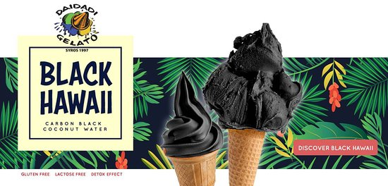 Gluten free, Lactose free:)  Natural black colour thanks to vegetable carbon.