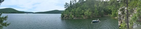 Mountain Pine, AR: View from Whirlpool Rock