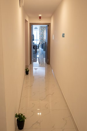 Corridors are Equipped with Eco Friendly Light
