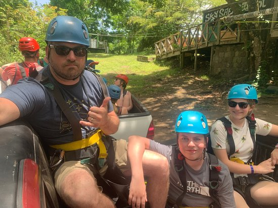 Saint Kitts Zipline Experience: Sky Safari Ziplining