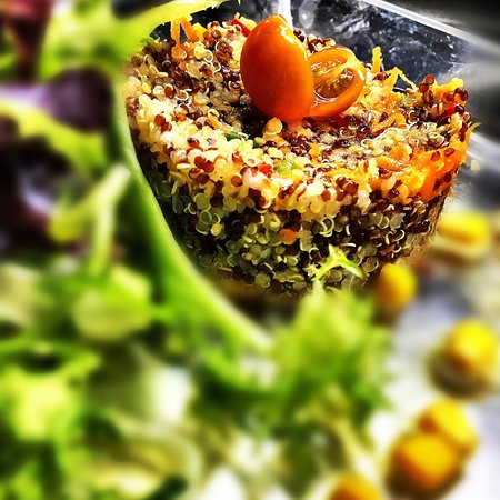 ATN Restaurant: Amanida de quinoa