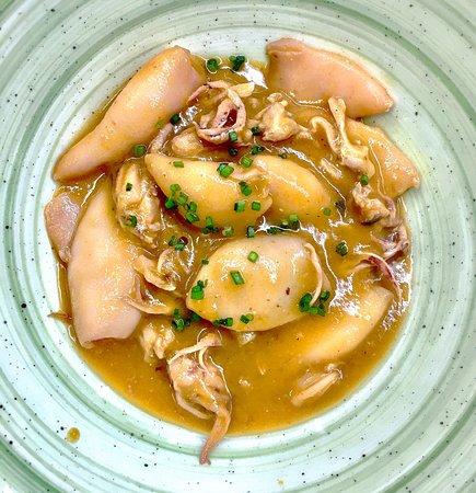 ATN Restaurant: Calamars en salsa