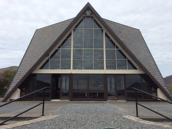 Galwayn kreivikunta, Irlanti: Front view of church