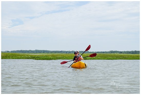 Assateague Outfitters: Paddling along