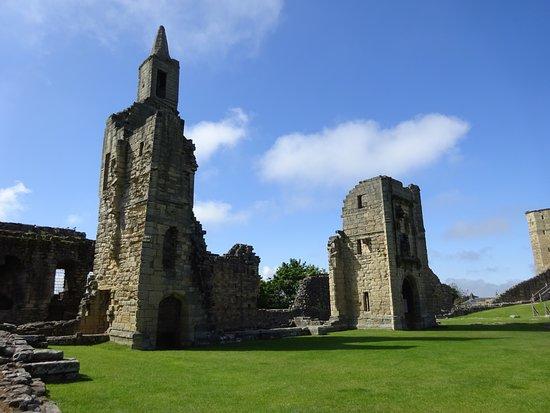 Warkworth Castle & Hermitage: Inside