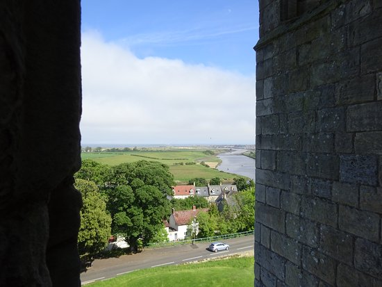 Warkworth Castle & Hermitage: Mouth of the River Coquet