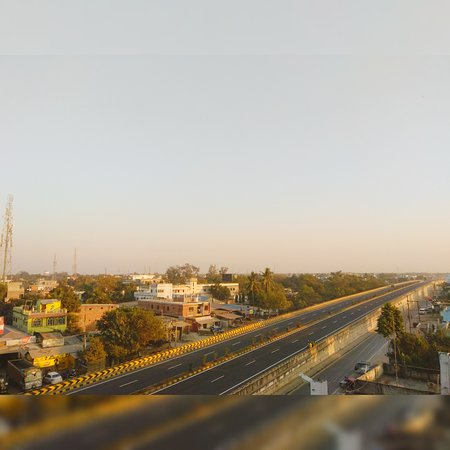Araria District, Inde : NH-57 View from Mona Hotel