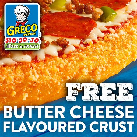 Free Flavoured Crust