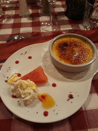 Crème brûlée à la fleur d'oranger