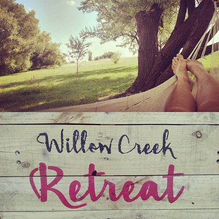 Medical Lake, วอชิงตัน: Hang a hammock, pitch a tent, bring an RV...Willow Creek Retreat is a close in getaway near Spokane